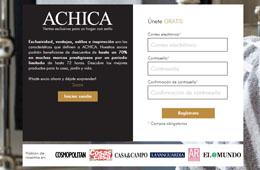Descuentos de hasta el 70% durante 48h en el club privado de ventas AChica