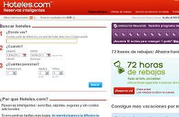 Ofertas y promociones de Hoteles.com