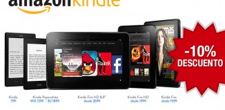Codigo promocional Kindle de un 10% de descuento