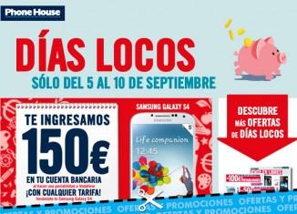 Nuevos Días Locos en Phone House con descuentos de hasta 150€ en Samsung Galaxy S4