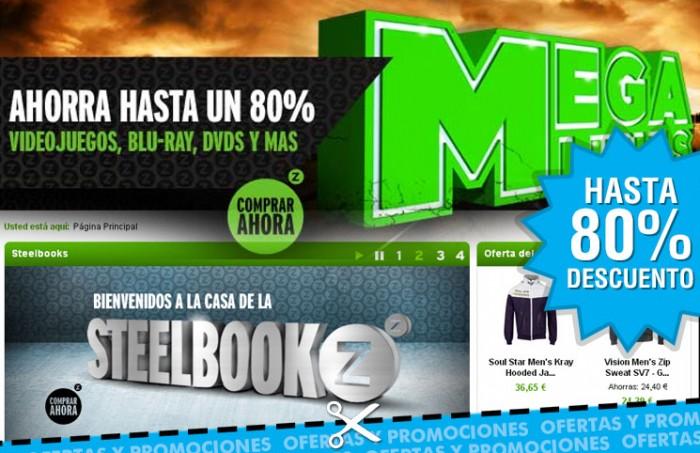'Mega Lunes' en Zavvi, disfruta sólo hoy de descuentos de hasta el 80% en Videojuegos, CD, DVD, Blu-Ray y Moda