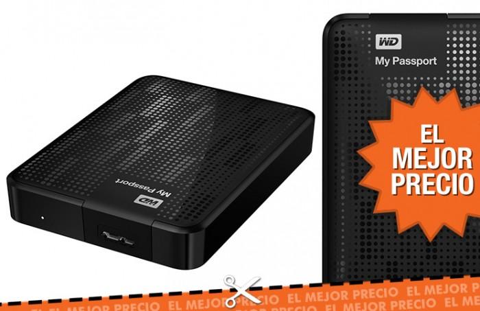 Disco duro Western Digital My Passport 4TB por 140€