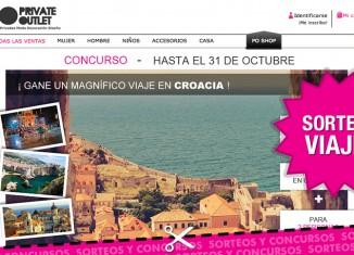 Nuevo sorteo de Private Outlet con el que conseguir un viaje a Croacia durante 7 noches