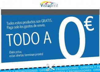 Ofertas de impresión de tarjetas de visita, camisetas, invitaciones y mucho más totalmente gratis en VistaPrint