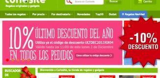 Codigo promocional de Curiosite de un -10% en toda la web