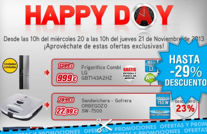Happy Day de Worten con descuentos de hasta el 29%
