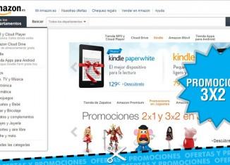 Amazon España nos ofrece una oferta de 3X2 en sus productos de la sección juguetes de preescolar
