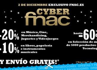Nueva promoción para el Cyber Monday de Fnac con descuentos de hasta el 60%