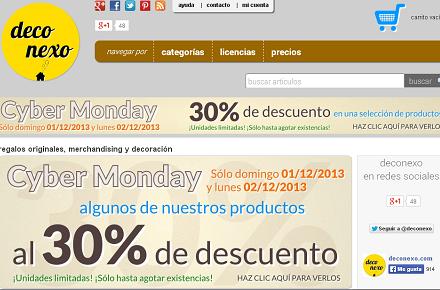 Cyber Monday en Deconexo