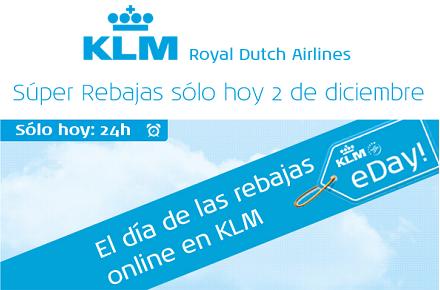 CyberMonday en KLM
