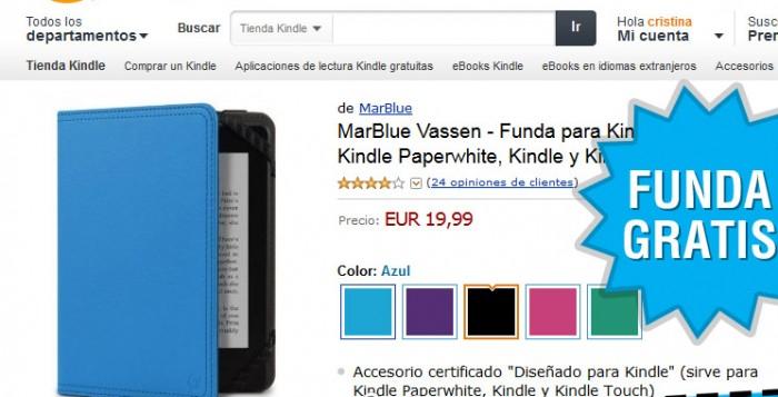 Fundas gratis para Kindle de Marware Vassen