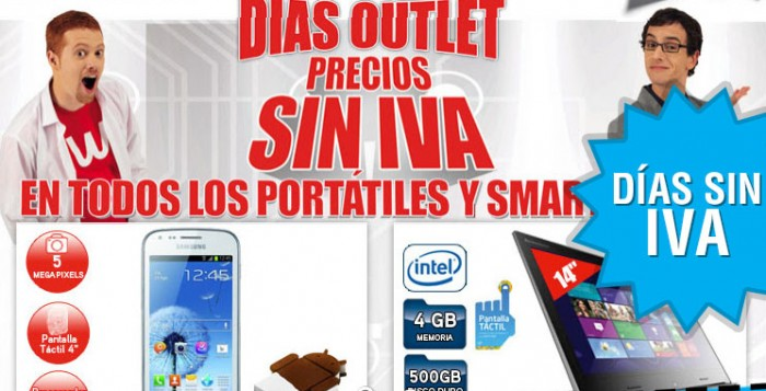 Días sin IVA en Worten en las secciones de Informática y Smartphones