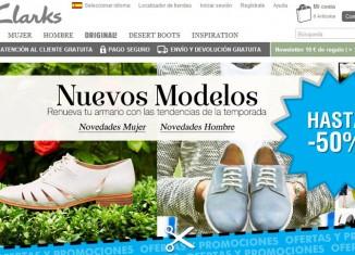Disfruta de unas fantásticas rebajas con descuentos de hasta 50% en la tienda online de zapatos Clarks