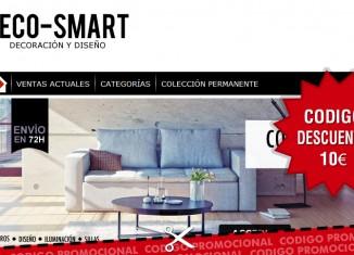 Código descuento en Deco-Smart de 10€
