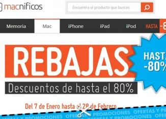 Descuento en la tienda online Macnificos de hasta el 80% en accesorios de iPhone, iPad, Mac y Apple en general