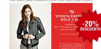 Codigo promocional de Zalando con un descuento del 20% para abrigos, chaquetas y chalecos