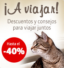 Ofertas para viajar con nuestras mascotas en Zooplus con descuentos de hasta el 50%
