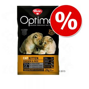 Pienso Visan Optima para gatos con 20% descuento