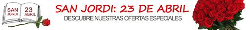 Sant Jordi de Aquarelle y Interflora en PromoCodigos