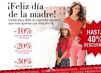 Cupon descuento de La Redoute para el dia de la Madre con ahorros de hasta el 40%