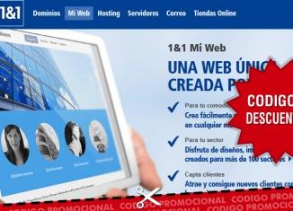 codigos promocionales 1and1 almacenamiento web