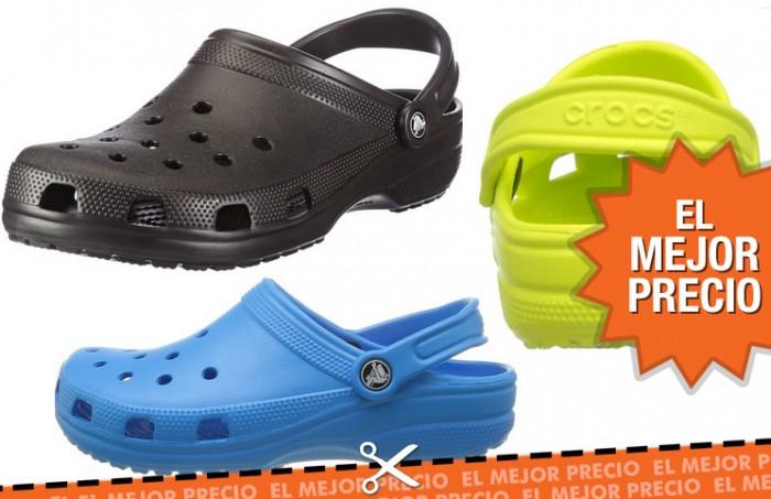 Zuecos Crocs al mejor precio en Amazon