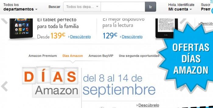 Ofertas días Amazon por tiempo limitad y descuentazos