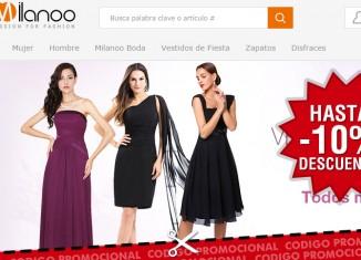 Rebajas de moda en Milanoo con hasta 10% o envíos gratis