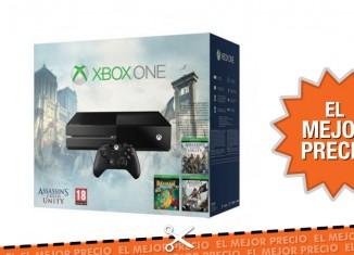 Mejor precio para el pack Xbox One con 4 videojuegos por hasta 349,99€