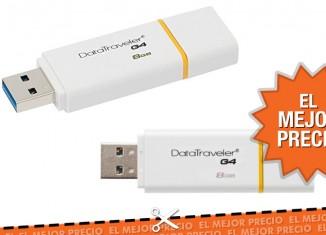 El mejor precio para la memoria USB Kingston de 8Gb