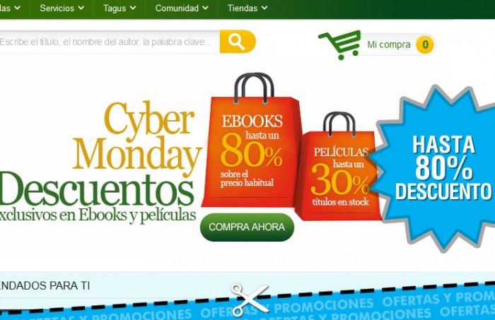 Descuentos Cyber Monday en Casa del libro