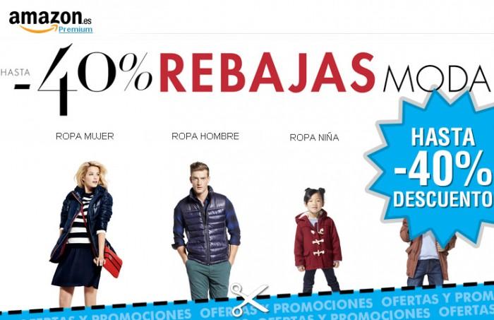 Rebajas de moda en Amazon España