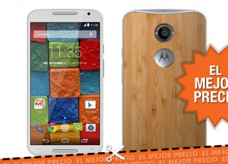 Motorola Moto X Bamboo con 100€ de descuento