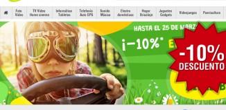 Código promocional Pixmania -10% sección Aire Libre