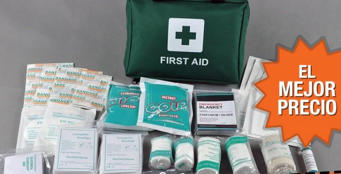 Oferta botiquín de primeros auxilios