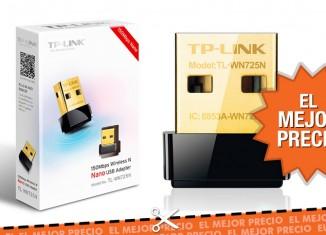 Oferta adaptador Wifi TP-LINK Nano