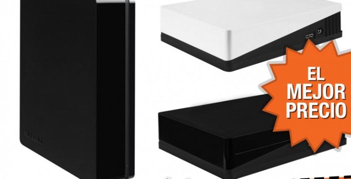 Oferta disco duro exsterno Toshiba Canvio Desk de 3 TB