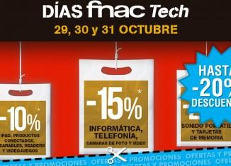 Ofertas en tecnología durante los Días de Fnac Tech