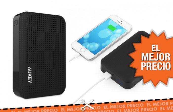 Oferta Aukey Batería Externa 10000mAh al mejor precio