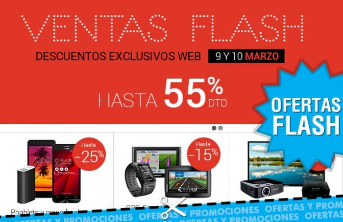 Ofertas flash de Fnac