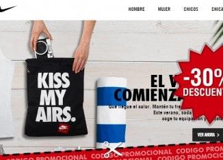 30% descuento adicional en productos rebajados de Nike