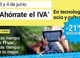 Promoción Días sin IVA de Fnac en tecnología, ocio y hogar