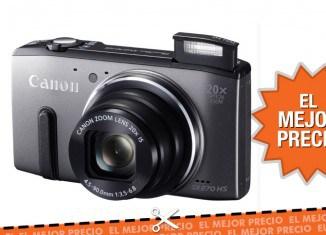 Oferta cámara Canon Powershot SX270 HS al mejor precio