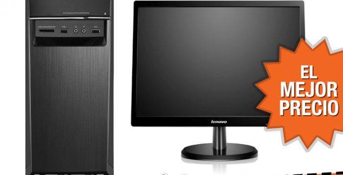 Oferta ordenador Lenovo H50-50 CTO con monitor al mejor precio