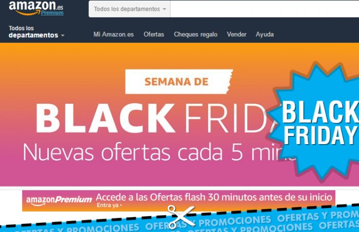 Semana Black Friday en Amazon con ofertas flash