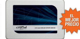 Oferta disco duro SSD Crucial MX300 de 525GB al mejor precio