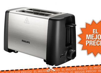 Oferta tostadora Philips Daily Collection al mejor precio