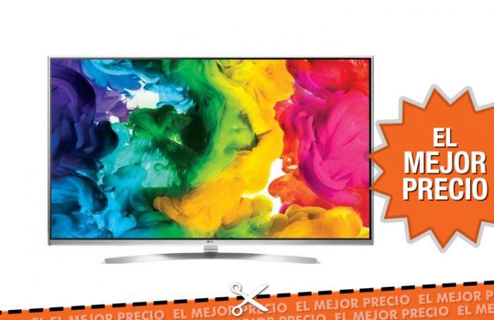 Oferta televisión LED LG 55UH850V al mejor precio
