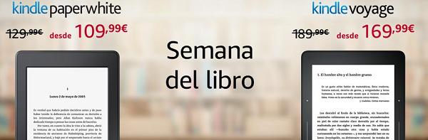 Semana del Libro en Amazon con ebooks rebajados